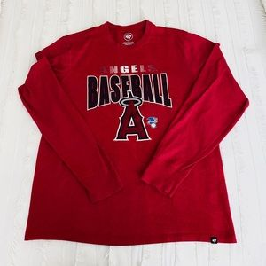 MENS Longsleeve Red Angels Shirt